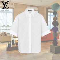 Louis Vuitton Casual Style Cotton Short Sleeves Shirts & Blouses