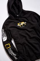 THE NORTH FACE Collaboration Long Sleeves Plain Cotton Hoodies