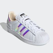 adidas SUPERSTAR Stripes Casual Style Street Style Logo Low-Top Sneakers