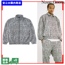 NOON GOONS Unisex Street Style Other Animal Patterns Coach Jackets