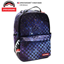 Sprayground Monogram Unisex Faux Fur Street Style A4 2WAY Backpacks