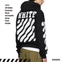 Off-White Stripes Unisex Street Style Collaboration Long Sleeves