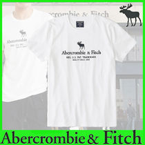 Abercrombie & Fitch Crew Neck Cotton Short Sleeves Crew Neck T-Shirts