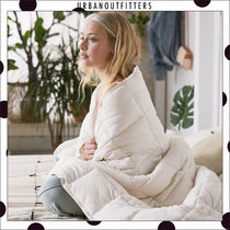Urban Outfitters Unisex Blended Fabrics Collaboration Plain Throws