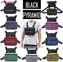 Black Pyramid Camouflage Nylon Bags