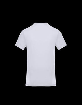 MONCLER Crew Neck Crew Neck Cotton Short Sleeves Crew Neck T-Shirts 4