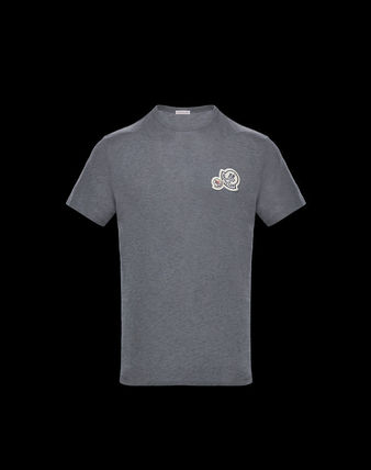 MONCLER Crew Neck Crew Neck Cotton Short Sleeves Crew Neck T-Shirts 12