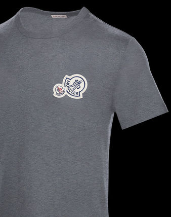 MONCLER Crew Neck Crew Neck Cotton Short Sleeves Crew Neck T-Shirts 13