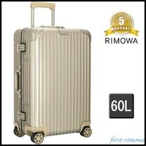 RIMOWA ORIGINAL Unisex 5-7 Days Hard Type TSA Lock Luggage & Travel Bags