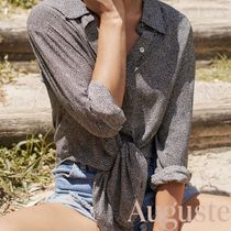 Auguste Long Sleeves Long Shirts & Blouses