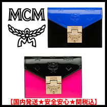 MCM Monogram Street Style Folding Wallets