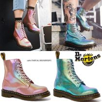 Dr Martens 1460 Platform Round Toe Lace-up Casual Style Unisex