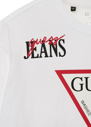 Guess More T-Shirts Unisex Street Style T-Shirts 6