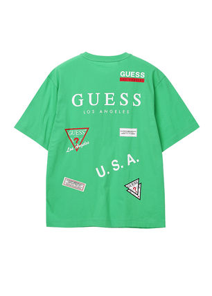 Guess More T-Shirts Unisex Street Style T-Shirts 12