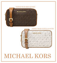 Michael Kors Casual Style Leather Shoulder Bags