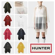 HUNTER Unisex Plain Oversized Ponchos & Capes