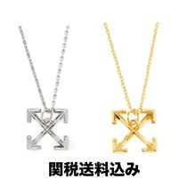 Off-White Unisex Street Style Chain Plain Necklaces & Chokers