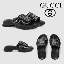 GUCCI Leather Sport Sandals Sports Sandals