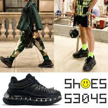 SHOES 53045 Unisex Street Style Handmade Sneakers
