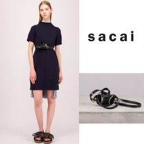 sacai Casual Style Shoulder Bags