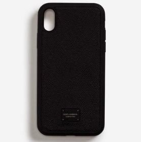 Dolce & Gabbana Smart Phone Cases Blended Fabrics Street Style Plain Leather Smart Phone Cases 2