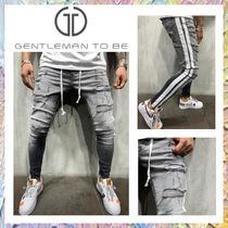 Gentleman To Be Stripes Street Style Jeans & Denim
