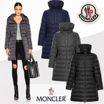 MONCLER FLAMMETTE Plain Long Down Jackets