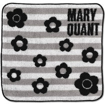 MARY QUANT Flower Patterns Unisex Home Party Ideas Handkerchief
