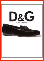 Dolce & Gabbana Plain Leather Oxfords