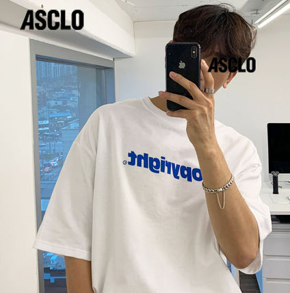 More T-Shirts Cotton Short Sleeves Oversized Logo T-Shirts