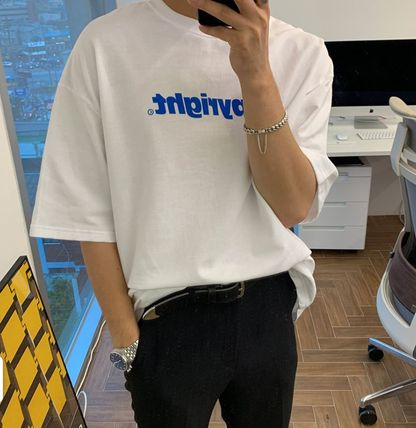 More T-Shirts Cotton Short Sleeves Oversized Logo T-Shirts 2
