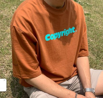 More T-Shirts Cotton Short Sleeves Oversized Logo T-Shirts 3