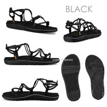 Teva VOYA INFINITY Open Toe Casual Style Street Style Plain Footbed Sandals