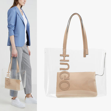 Bag in Bag Crystal Clear Bags Totes