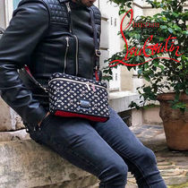 Christian Louboutin Studded Leather Messenger & Shoulder Bags