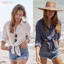 Auguste Flower Patterns Shirts & Blouses