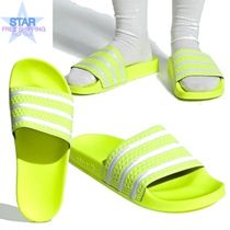 adidas ADILETTE Unisex Plain Shower Shoes Shower Sandals