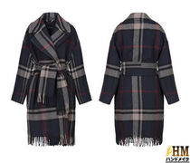 MaxMara Tartan Other Check Patterns Wool Medium Office Style