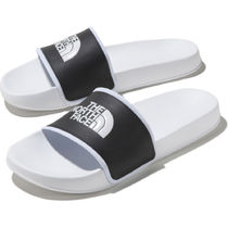THE NORTH FACE Casual Style Unisex Street Style Plain Sport Sandals Logo
