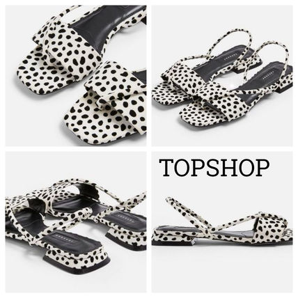 Rubber Sole Casual Style Faux Fur Other Animal Patterns
