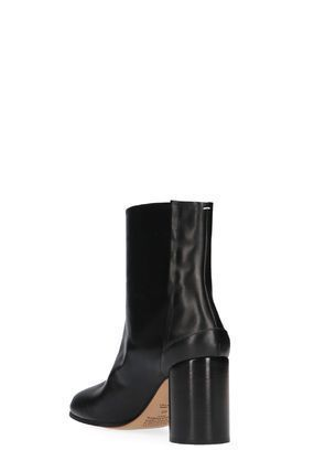 Maison Martin Margiela Ankle & Booties Plain Leather Block Heels Ankle & Booties Boots 3