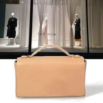 The Row Calfskin 2WAY Plain Elegant Style Shoulder Bags