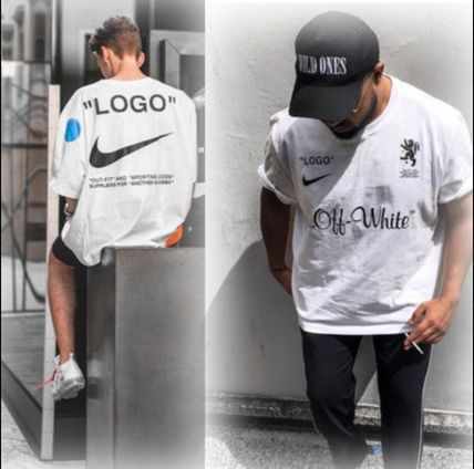 Off-White More T-Shirts Street Style Collaboration Short Sleeves T-Shirts