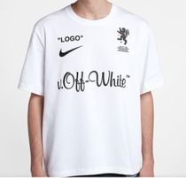 Off-White Street Style Collaboration Short Sleeves Logo T-Shirts