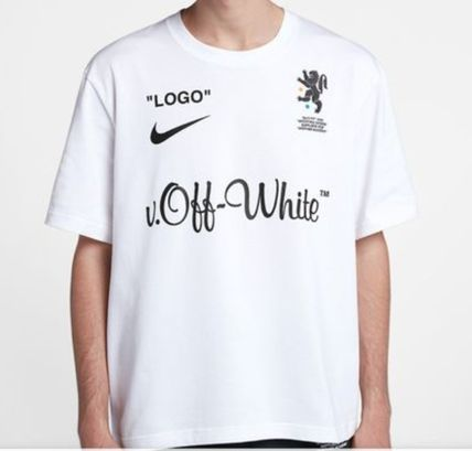 Off-White More T-Shirts Street Style Collaboration Short Sleeves T-Shirts 2