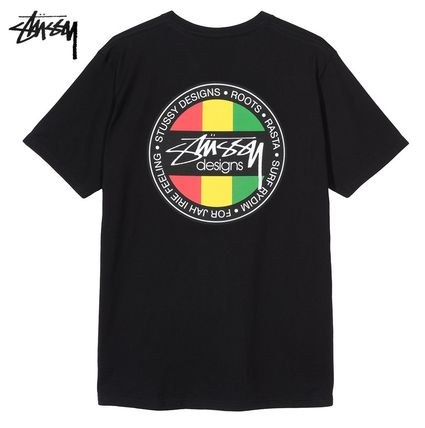 STUSSY More T-Shirts Street Style Short Sleeves Logo Skater Style T-Shirts