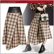 Louis Vuitton Other Plaid Patterns Wool Blended Fabrics Medium