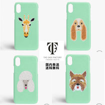 THE CASE FACTORY Other Animal Patterns Leather Handmade Smart Phone Cases