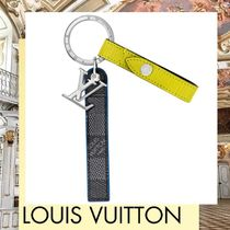 Louis Vuitton EPI Unisex Blended Fabrics Leather Keychains & Holders