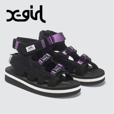 Rubber Sole Collaboration Plain Sandals